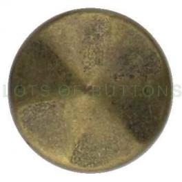 Bronze Faceted Cone