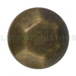 Bronze Faceted Dome