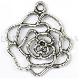 Flower Outline Charm-1