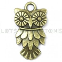 Mechanical Owl Charm