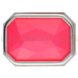 Pink Faceted Octagon