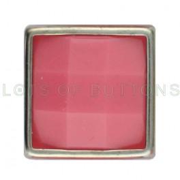 Plum Faceted Square
