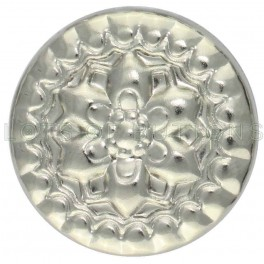Silver Floral Decorative