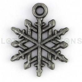 Snowflake Charm-3