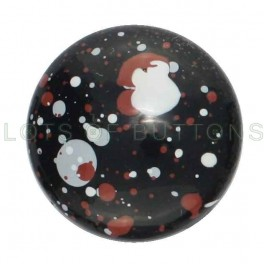 Speckled 1 Dome Glossy