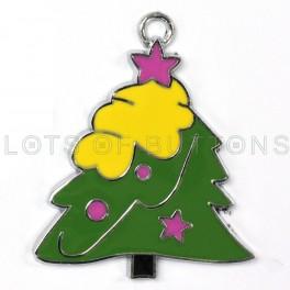 Colorful Christmas Tree Charm