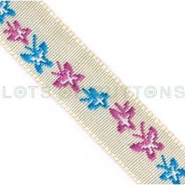 Butterflies Woven Jacquard Ribbon (10mm)