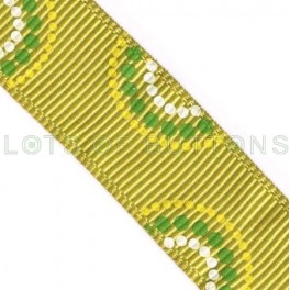 Circles Grosgrain Ribbon (17mm)