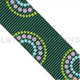 Circles Grosgrain Ribbon (17mm)