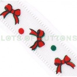 Red Bows Ribbon